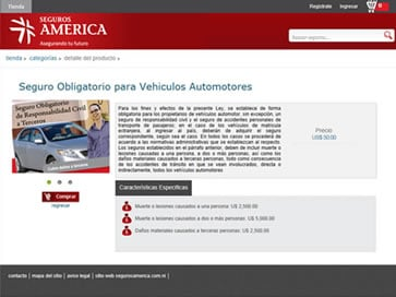 Mandatory Insurance sales system